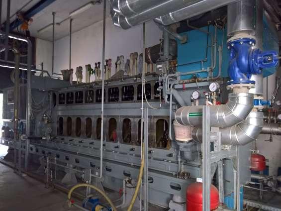 Fotos de Motor man con aceite vegetal de 2,7 mw y alternador hyundai 2
