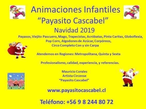 Show infantil navidad 2019