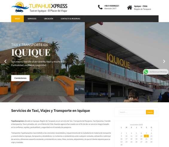 Taxi en iquique, transfer aeropuerto de iquique